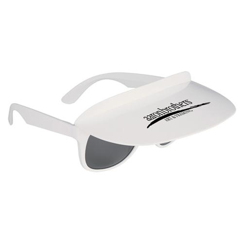 Custom Two Tone Visor Sunglasses Image 7