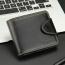 Mens Zipper Hasp Coin Pocket Wallet Image 3