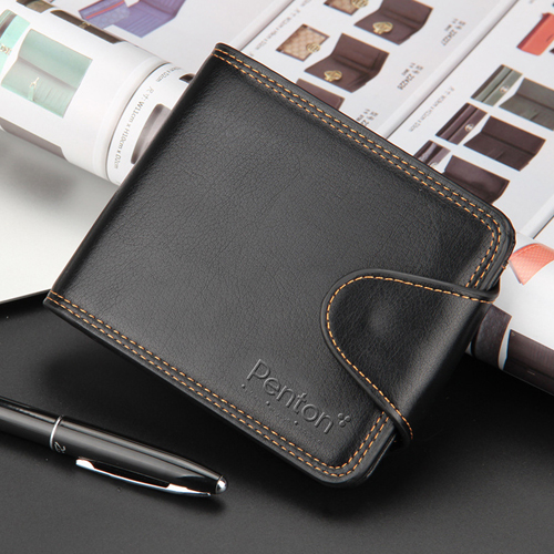 Mens Zipper Hasp Coin Pocket Wallet Image 4