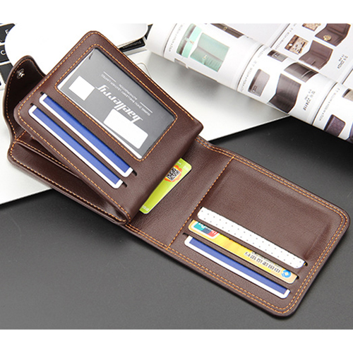Mens Zipper Hasp Coin Pocket Wallet Image 6