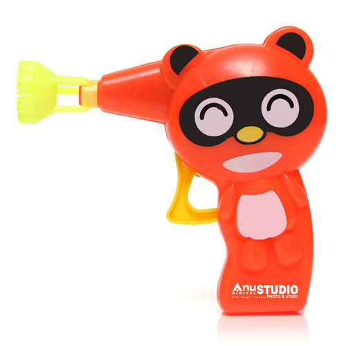 Outdoor Toys Kids Bubble Blower Gun Image 1