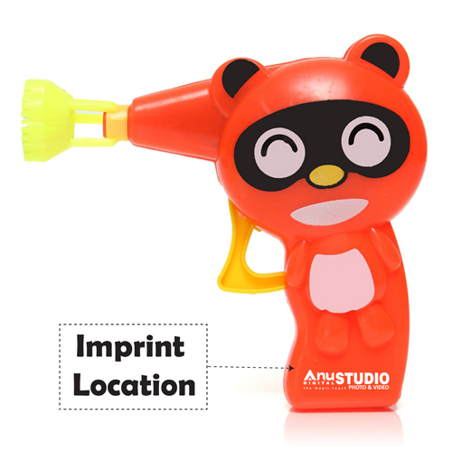 Outdoor Toys Kids Bubble Blower Gun Imprint Image