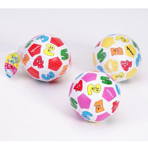 Educational Children Cartoon Soccer Beach Ball Image 2