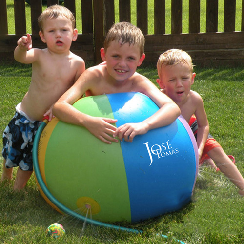 Inflatable Fountain Childrens Sprinkler Beach Ball
