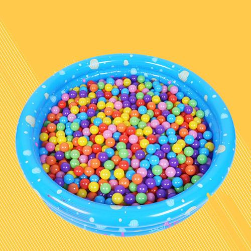 Mixed Color Ocean Beach Balls Image 1