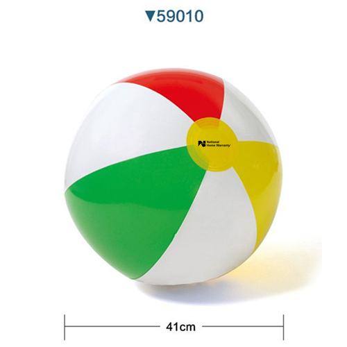 Inflatable 4 Colors Beach Ball Image 1