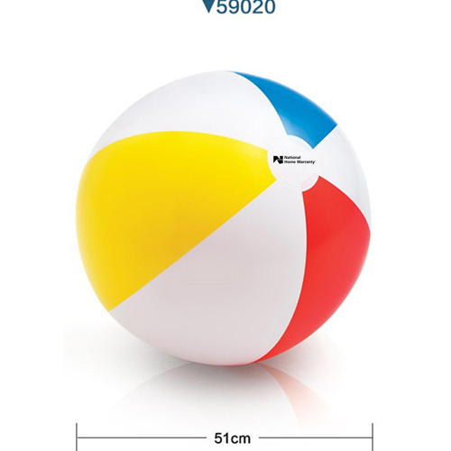 Inflatable 4 Colors Beach Ball Image 2