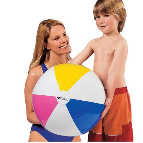 Inflatable 4 Colors Beach Ball Image 4
