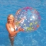 Inflatable Transparent Printed Kids and Adult Beach Ball