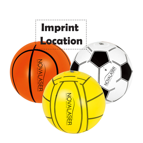 Inflatable Exercise Beach Ball Imprint Image