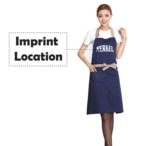 Cooking Hanging Neck Aprons Imprint Image