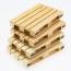Simulation Mini Wood Pallet Coasters Image 1