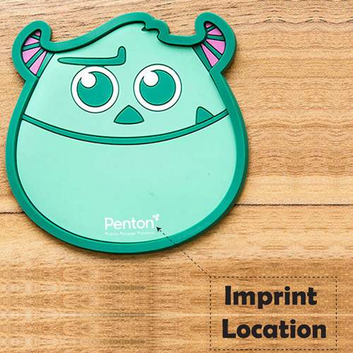 Cartoon Silicone Coaster Insulation Mat Imprint Image