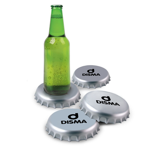 Spinning Giant Bottle Cap Coasters