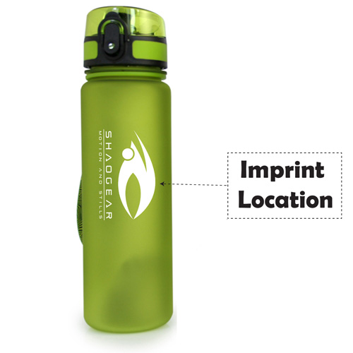Sporty 500ML Water Bottle With Handy Strap Image 6