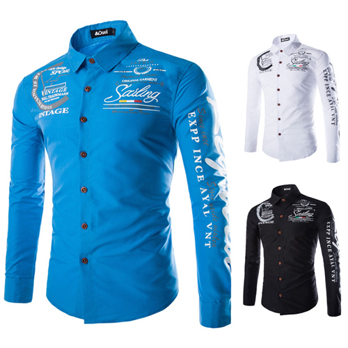Slim Design Long Sleeve Shirt