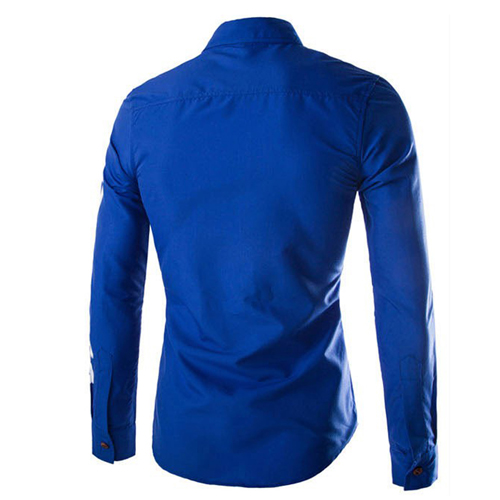 Slim Design Long Sleeve Shirt Image 3