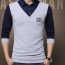 False Two Fashion Mens Shirts Image 3