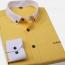 White Collar Mens Big Size Shirts Image 4