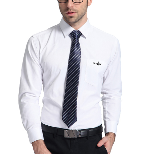 Long Sleeve Mens Business Formal Shirts