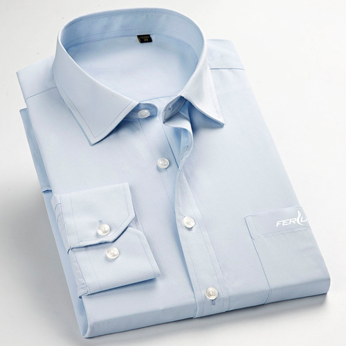 Long Sleeve Mens Business Formal Shirts Image 1