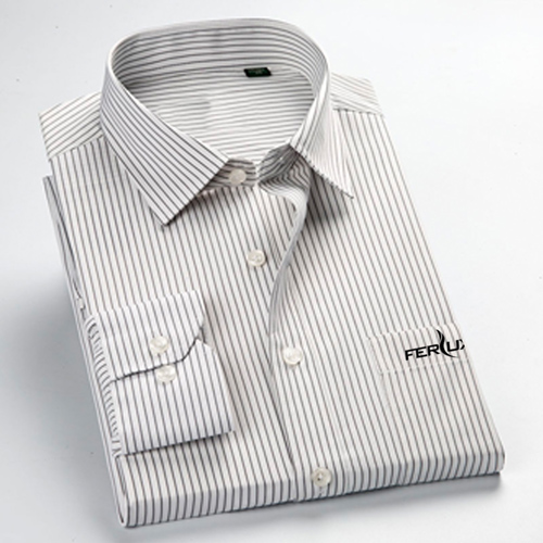 Long Sleeve Mens Business Formal Shirts Image 2