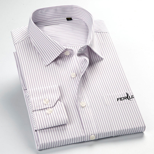 Long Sleeve Mens Business Formal Shirts Image 3