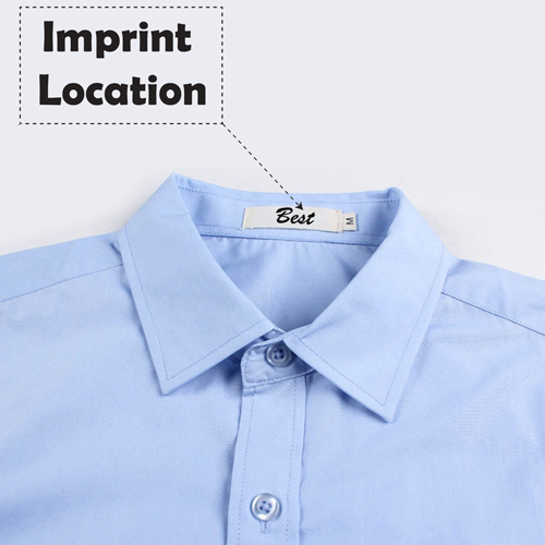Short Sleeve Casual Summer Slim Fit Shirt Imprint Image
