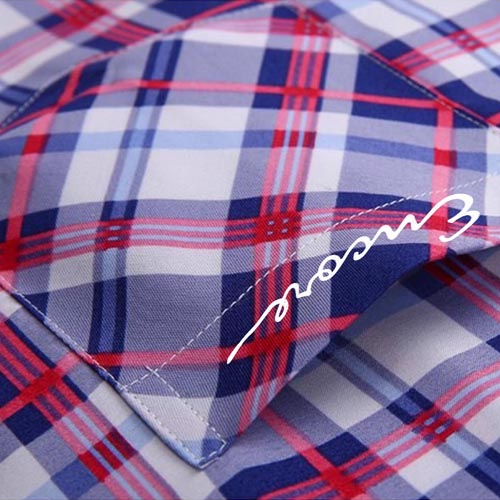Slim Fit Stylish Striped Dress Shirts Image 5