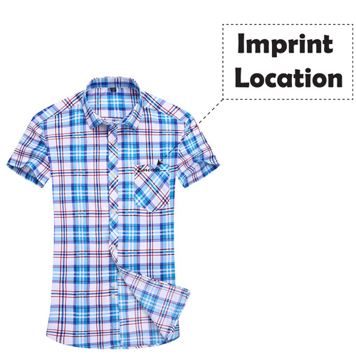Slim Fit Stylish Striped Dress Shirts Imprint Image