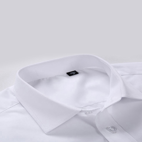 Short Sleeved Men Formal Cotton Shirts Image 3
