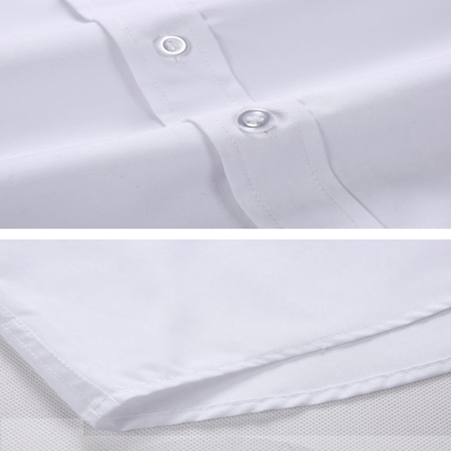 Short Sleeved Men Formal Cotton Shirts Image 4