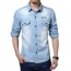 Autumn Fashion Slim Fit Jean Shirts