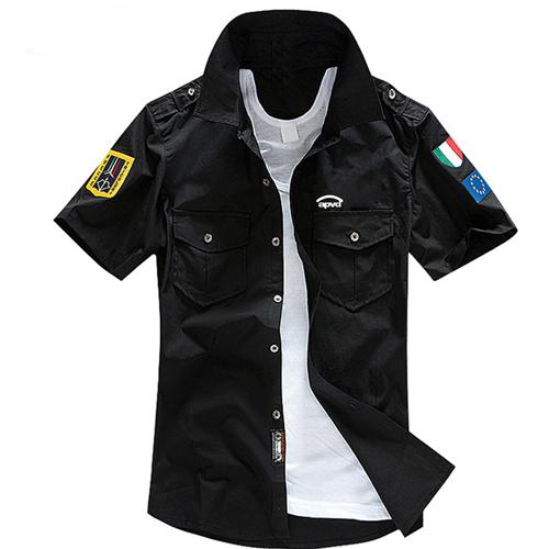 Mens Air Force Casual Shirts Image 1