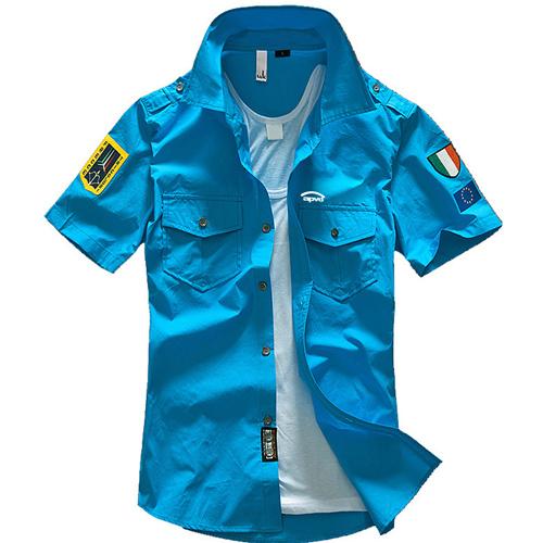 Mens Air Force Casual Shirts Image 2