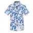 Mens Floral Print Short Sleeve Shirts