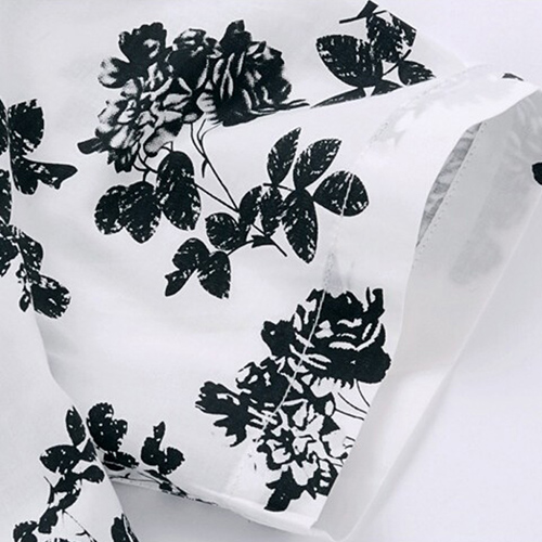 Mens Floral Print Short Sleeve Shirts Image 5