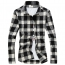 Long Sleeve Men Plaid Shirt Image 1