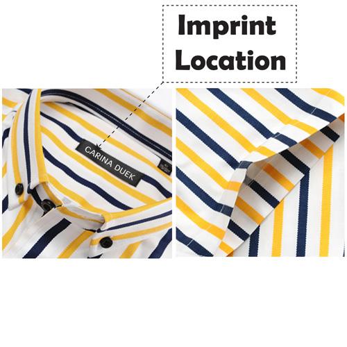 Lightweight Short Sleeve Dress Shirts Imprint Image