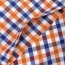 Lightweight Short Sleeve Plaid Striped Shirts Image 3