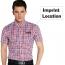 Lightweight Short Sleeve Plaid Striped Shirts Image 5