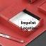 Chrome Plated Desk Pad Set Imprint Image