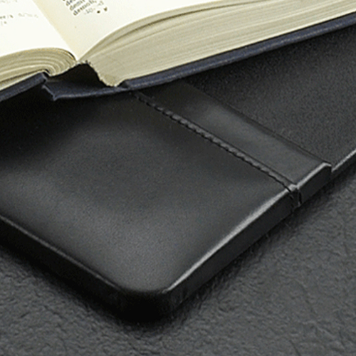 Black Leather Desk Pad Set Image 1