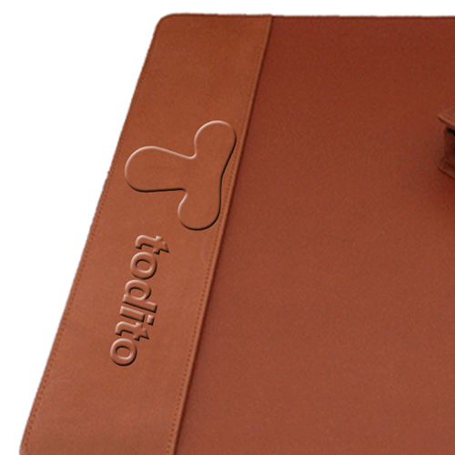 Five-Piece Leather Desk Pad Set Image 2
