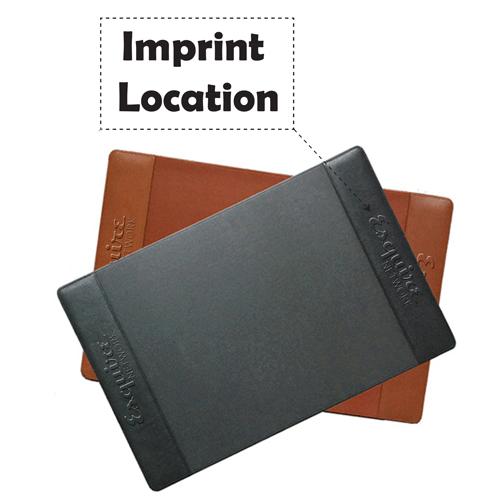 Large Grain Desk Pads Imprint Image