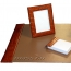 Small 4 Piece Croco Desk Pad Set Image 1