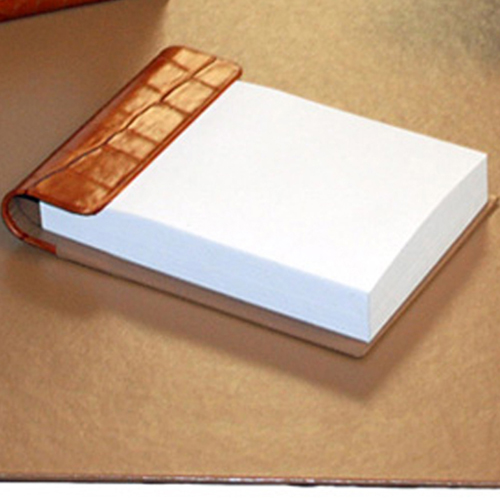 Small 4 Piece Croco Desk Pad Set Image 4
