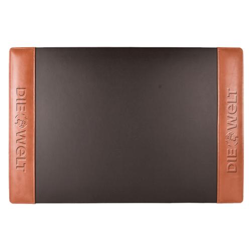 Leather Side Rails Desk Pad