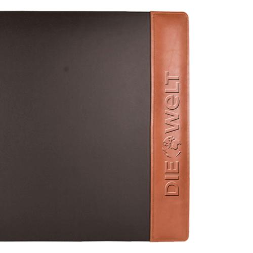Leather Side Rails Desk Pad Image 1