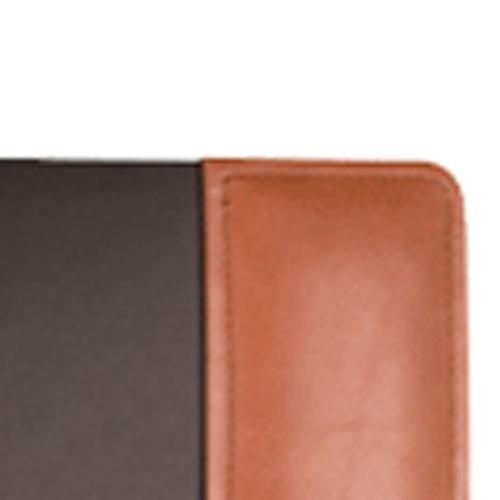 Leather Side Rails Desk Pad Image 2